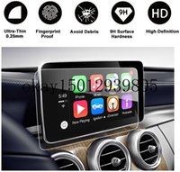 for Mercedes-Benz C Class 2015-2018 GPS Touch Screen Car Display Navigation Screen Protector,Tempered Glass Protective Film (8.4Inch)