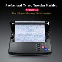 Copiadora profissional do stencils do kit de máquina de transferência profissional da tatuagem de 110-220V com a impressora de tatuagens de alta velocidade da ferramenta de papel térmico