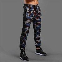 Camouflage Pantalons de jogging Men Sports Leggings Fitness Collants Gym Jogger Bodybuilding Santé Pantalon Pantalon Sport Pantalon 210616