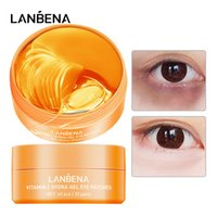 Lanbena Eye Masque Collagenskin Care Gel Hydratant Restinol anti-vieillissement Retirez les cercles noirs Sac oeil