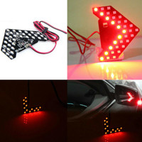 Emergency Lights 2 Pcs 33-SMD Led Arrow Panels Car Side Mirror Turn Signal Indicator Decorative Lamp External Spare Parts Products
