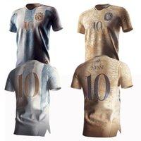 20/21 Argentinien Maradona 86 Retro Gedenkausgabe Fussball Jersisys 2021 # 10 Messi 200th Jubiläum Dybala Aguero Celso Martinez Football Hemd Uniformen