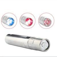 HotSale 3 Color LED Fotón Terapia de la luz 630nm 660nm 850nm Antorcha de la luz roja para las articulaciones Alivio del dolor humano y animales