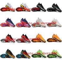 2021 رجل فانتوم جي تي الثاني النخبة df fg كرة القدم أحذية عالية منخفضة الكاحل المرابط أحذية كرة القدم scarpe da alcio حجم 39-45
