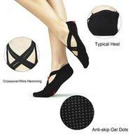 Ankle Support 1 Pair Yoga Socks Women Anti-Slip Home Fitness Sport Gym Pilates Ballet Dance Sock Breathable Elasticity Soft