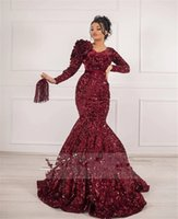 Robe De Soiree Caftan Party Gowns 2021 Burgundy Arabic Prom Dresses Formal Middle East Women Evening Wear Custom
