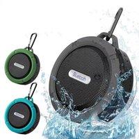 Fast Ship Bluetooth Speaker C6 Waterproof Level Portable Speak er Shockproof Dustproof Mini Speake r Blue tooth 3.0 Receiver