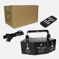 Steuerung Remote 9-Eye Laser Party Bühnenlicht High-Hellness DMX Disco Lampe für Home KTV Halloween Weihnachtsdekoration