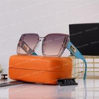 Couple de mode Luxurys Designers Lunettes de soleil pour femmes hommes Designer Sun Lunettes de soleil Extérieur Drive vacances Été Polarisée Femme Sunglass Box