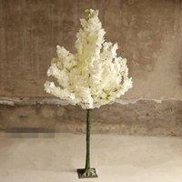 1,5 м 5 футов высота белый вишневый цвет дерева дороги цитируемый симулятор вишневой цветок дерево для свадебных вечеринок центральный декор