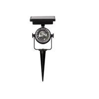 Solprojektor Lighting Lawn Lampor LED Spotlight Rotating RGB Projektion Lights Party Stage Light Vattentät Bolllampa för Garden Crestech