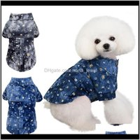 Apparel Supplies Home & Gardendog Shirts Cotton Summer Beach Vest Short Sleeve Pet Clothes Dog T Shirt Print Tops1 Drop Delivery 2021 Uhr50