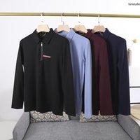 21ss Men Polos Classic Casual T Рубашки для Мужской Терри Красивая Свободная версия Резка Процесс с коротким рукавом Мода Дизайн Отворота