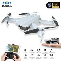 Dube Mini Drohne Kamera 4k Wifi FPV Video RC Quadcopter Höhe Hold Faltbare 4k Drohne mit HD-Kamera Quadrocopter VS E68