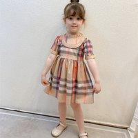 Summer Baby Girls Dress Cherry Print Infant Girl Dresses Toddler Baby Girl Sundress Clothing Casual Kids Vest Floral Dress