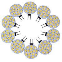 10 adet Spot 15 * 5730SMD 5 W G4 LED Lambaları Mısır Mini Lampada Ampuller Aydınlatma Yüksek Güç 360 Derece Halojen Lambası 12 V