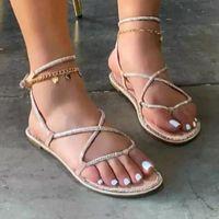 Sandals SAGACE Luxury Designer Women Summer 2021 Fashion Women's Casual Shoes Breathable Slip-on Outdoor Slugged Bottom Slippers