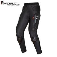 Pantaloni da equitazione moto Armatura Cross Country Bicycle Anti Caletta Pantaloni da equitazione Pantaloni per la protezione dell'anca Pantaloni per la protezione del ginocchio Protezione del ginocchio Cavaliere