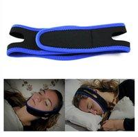 Cuidados de saúde Snoring Cessation Anti Snore Chin Strap Belt Belt Band Navio da China