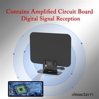 LeadZM TA-105A İç Dijital TV HDTV Anten Amplifikatör UHF / VHF / 1080P 4K standı