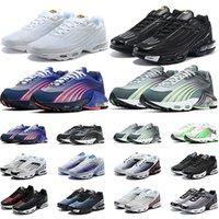 Nike air max tn plus 3 hombres mujeres zapatos para correr zapatillas deportivas para hombre Pre-Day núcleo gris EE. UU. moda para mujer entrenador zapatillas