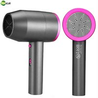 Negative Ion Hair Dryer Cold and Hot Strong Wind Dryers Ac Motor 1 Nozzle 1 Diffuser Blowdryer Exquisite Gift Box Packaging