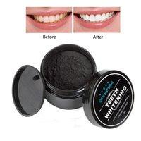 Holzkohle Zähne Whitening Pulver Zahnpasta Starker Whitening Zahnpulver Oralhygienreinigung Oralpflege Kohlepulver Neu