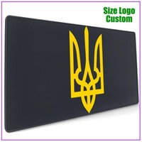 Mouse Pads & Wrist Rests Ukrainian Logo Pc Gamer Completo Overwacth Extra Large Personalized Custom Pad With Support Gel Rgb Razer Big Gamin