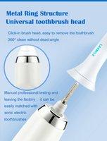 Zahnbürste Ersatzköpfe kompatibel mit Philips Sonicare Alle Snap-on-Griffe elektrische Zahnbürstengriffe 6-Pack-Diamantweiß / Schwarz