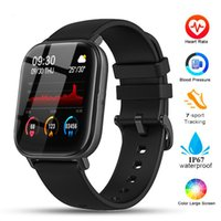 Luxury Top quality Smart Watch P8 1.4 inch Men Full Touch Fitness Tracker Blood Pressure Clock Women GTS Smartwatch pk 44mm Watches Fashion 2021 newest