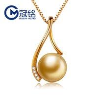 pingente guanming moda jóias 925 pérola de prata pingente senhora clavícula colar
