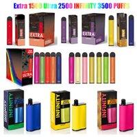 Extra Ultra Unendlichkeit Einweg-Vape-Stift Elektronische Zigaretten-Kit 850mAh-Batterie 1500 2500 3500 Puffs Vorgefüllt Dampf 6ml Pod Bang XXL FLEX FLOAT AIR BAR BOX