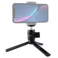 Mobiltelefon-Sicherungs-Clip-Klemmhalterung Mount Desktop-Stativ für DJI Osmo-Tasche Handheld-Gimbal-Kamera-Zubehör-Köpfe