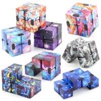 Infinity Magic Cube Zappeln Spielzeug Kreativer Himmel Antistress Office Flip Cubic Puzzle Mini-Blöcke Dekompression Spielzeug GYQQQQ