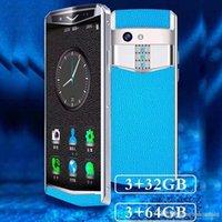Магия мини реальный кожаный чехол 3.5inch андроид мобильного телефона 4g сотовых телефонов с 3GB + 32GB 64GB ROM бесплатно с поддержкой BLUETOOTH типа наушника гр 13 Мпикс камера Ге мобильного телефона