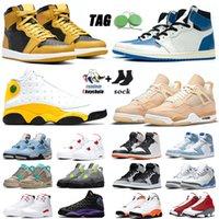【code: OCTEU03】 12 13s zapatillas aire jordan retro de baloncesto para hombres Bulls CNY University Blue Game Royal UNC 12s Zapatillas de exterior para hombre