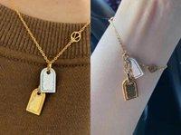 Moda inicial letra gargantilha colar bijoux cubano link para homens mulheres festa casamento amantes presente jóias com caixa lz0810