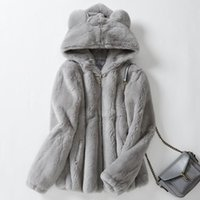 Winter Real Fur Coat Women Plus Size Clothes 2021 Fashion Ka...