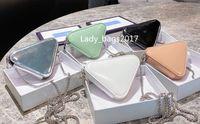 Classico donna catena borse portafogli in pelle tascabile tascabile tascabile con cerniera con cerniera sacchetto portamonete borsa con carta di credito porta a tracolla frizione