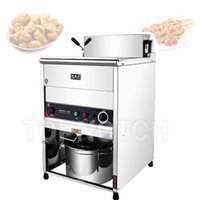 Commercial Electric Deep Fryer Vertical Frying Machine 30L Large Capacity Stainless Steel Fryed Maker