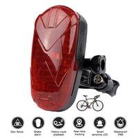 Car GPS & Accessories TKSTAR Tracker Bike Waterproof Taillight Design Vibrate Drag Alarm Mini For Bicycle Geo-fence SOS Free APP