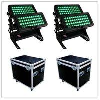 ЭФФЕКТЫ 4 шт. С корпусом Водонепроницаемый EL LED Wallwasher 96x10W RGBW 4in1 IP65 Открытый стен стирают городской светлый свет