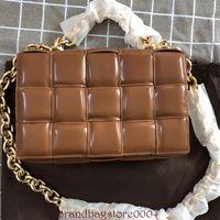 Bolsas para mulheres simples pequenas bolsas quadradas pacote de confecção de malhas de couro de couro diagonal almofada tecida tecida bolsa bolsa bolsa de ombro cadeias bolsas