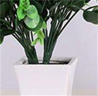 Konstgjorda boxwood stammar konstgjorda grönska stammar konstgjorda växter UV resistent falska växter bondgård hem trädgård bröllop pati ood5709