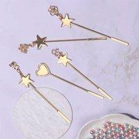 Nail Art Kits Gel Polish Metal Stirring Rod Tools Acrylic Powder Liquid UV Spoon Pin Star Dotting Embossed Pen Manicure