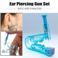 Tattoo Needles 1pcs Set Ear Piercing Gun Kit Asepsis Disposable Healthy Safety Earring Piercer Tool Machine Studs Nose Lip Body Jewelry