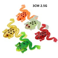 20pcs lot 5 Colour 3CM 2.5G Frog Silicone Fishing Lure Soft Baits & Lures Pesca Tackle Accessories WA_540