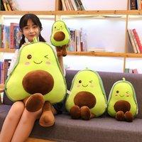 30-85 cm Avocado Peluche Giocattoli Peluche Carino PillowCushion Kawaii Frutta Piewed Doll Toy for Children Throw Pillow Compleanno regalo