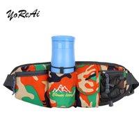 Yoreai камуфляж мужской талию сумка пояса спорт бегущий сплошной велосипедный телефон водонепроницаемый держатель женские сумки