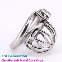 Embedded Modular Venting Hole Design Maschio Cage Cage 4 Penis Anello Bondage Lock Sciocchio Elettrico Scarico Ammortizzatore Adulto Bdsm Sex Toy